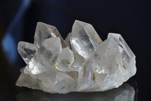 Erstklassige Bergkristall Stufe vom Ahnengletscher