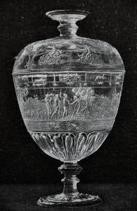 Bergkristall Doppelpokal. Italienischer Meister nach 1550.