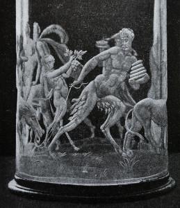 Bergkristall Humpen eines mailändischen Meisters aus der Werkstatt der Saracchi, Ende des 16. JH
